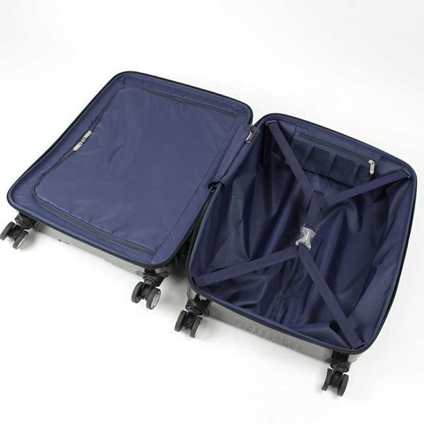 BERMAS EURO CITY ユーロシティ 横開き フロントオープン スーツケース ハードキャリー ファスナータイプ 55L 機内持込 TSAロック 4輪 レッド 6029130|monosapiens|09