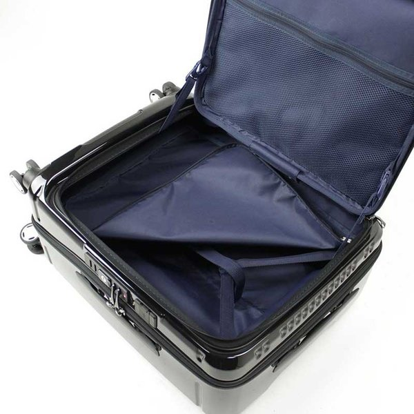 BERMAS EURO CITY ユーロシティ 横開き フロントオープン スーツケース ハードキャリー ファスナータイプ 55L 機内持込 TSAロック 4輪 レッド 6029130|monosapiens|10