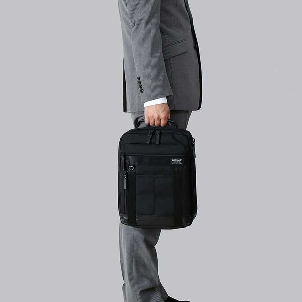 【全商品ポイント10倍】 BERMAS BAUER III バーマス バウアー3 ショルダーバッグ M ビジネスバッグ ビジカジ ブラック 6006610 monosapiens 09