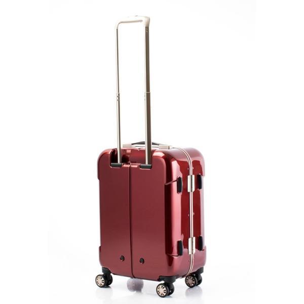 【全商品ポイント10倍】 HIDEO WAKAMATSU ヒデオワカマツ ナローII 超軽量 スーツケース S ハードキャリー TSA 機内持ち込み 36L ワイン 85-76360-WN|monosapiens|04