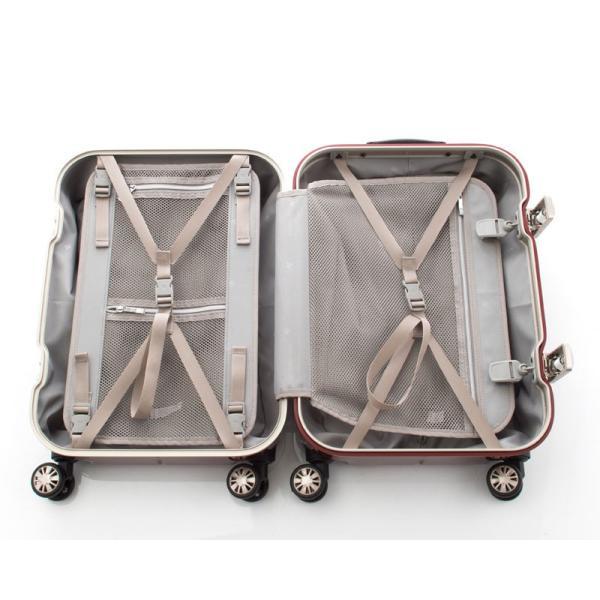 【全商品ポイント10倍】 HIDEO WAKAMATSU ヒデオワカマツ ナローII 超軽量 スーツケース S ハードキャリー TSA 機内持ち込み 36L ワイン 85-76360-WN|monosapiens|05
