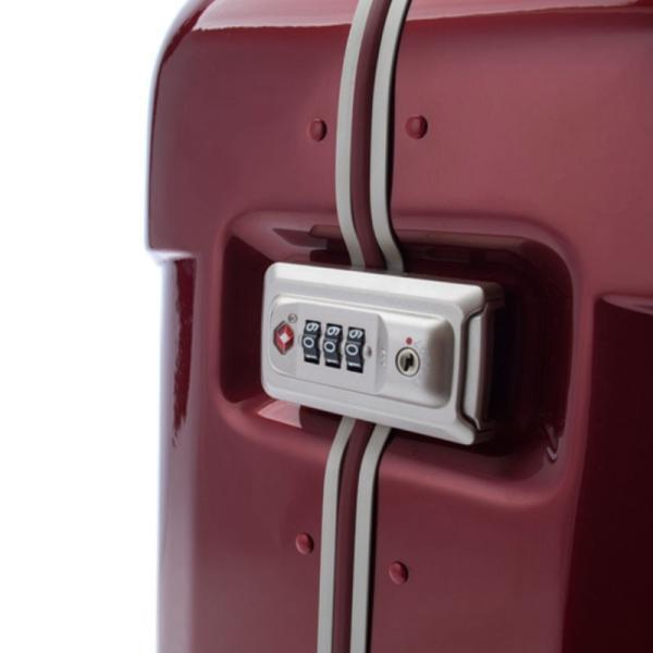 【全商品ポイント10倍】 HIDEO WAKAMATSU ヒデオワカマツ ナローII 超軽量 スーツケース S ハードキャリー TSA 機内持ち込み 36L ワイン 85-76360-WN|monosapiens|06