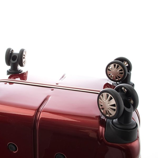 【全商品ポイント10倍】 HIDEO WAKAMATSU ヒデオワカマツ ナローII 超軽量 スーツケース S ハードキャリー TSA 機内持ち込み 36L ワイン 85-76360-WN|monosapiens|07