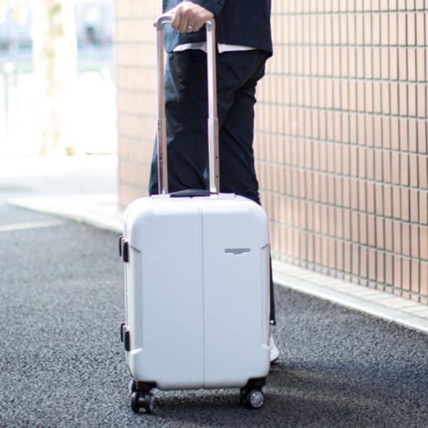 【全商品ポイント10倍】 HIDEO WAKAMATSU ヒデオワカマツ ナローII 超軽量 スーツケース S ハードキャリー TSA 機内持ち込み 36L ワイン 85-76360-WN|monosapiens|09