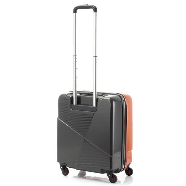 HIDEO WAKAMATSU ヒデオワカマツ マックスキャビンEX スーツケース ハードキャリー TSA 42L キャビンサイズ 最大級 ブラック 85-76580-BK monosapiens 02