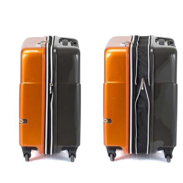 HIDEO WAKAMATSU ヒデオワカマツ マックスキャビンEX スーツケース ハードキャリー TSA 42L キャビンサイズ 最大級 ブラック 85-76580-BK monosapiens 03