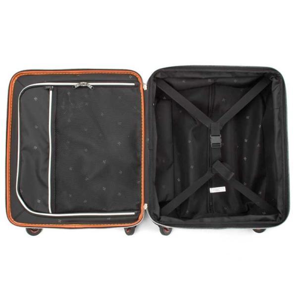 HIDEO WAKAMATSU ヒデオワカマツ マックスキャビンEX スーツケース ハードキャリー TSA 42L キャビンサイズ 最大級 ブラック 85-76580-BK monosapiens 04