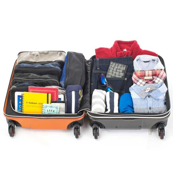 HIDEO WAKAMATSU ヒデオワカマツ マックスキャビンEX スーツケース ハードキャリー TSA 42L キャビンサイズ 最大級 ブラック 85-76580-BK monosapiens 05