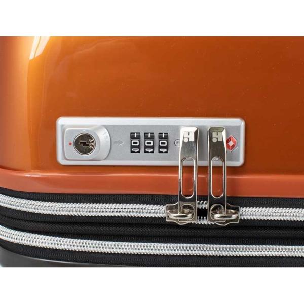 HIDEO WAKAMATSU ヒデオワカマツ マックスキャビンEX スーツケース ハードキャリー TSA 42L キャビンサイズ 最大級 ブラック 85-76580-BK monosapiens 06