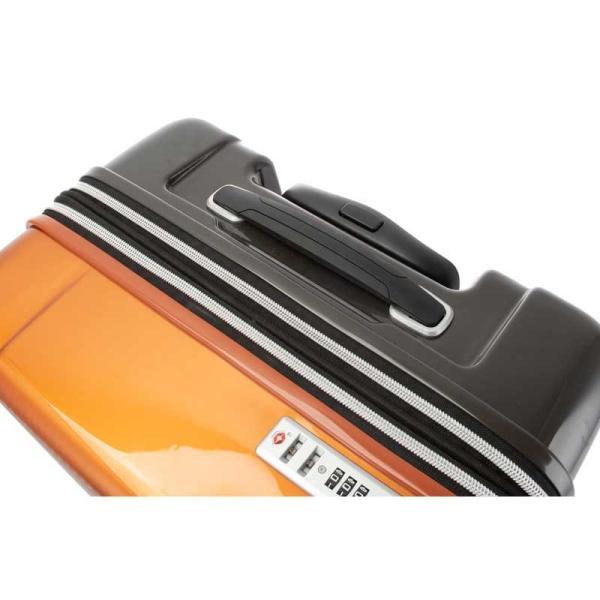 HIDEO WAKAMATSU ヒデオワカマツ マックスキャビンEX スーツケース ハードキャリー TSA 42L キャビンサイズ 最大級 ブラック 85-76580-BK monosapiens 07
