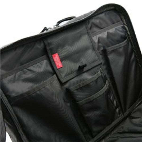 【全商品ポイント10倍】 MANHATTAN PASSAGE マンハッタンパッセージ ZERO GRAVITY 3way Briefcase ビジネスバッグ ブリーフケース リュック ブラック #2475-BK|monosapiens|03