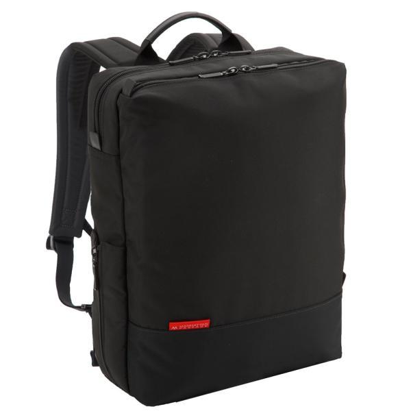 【全商品ポイント10倍】 MANHATTAN PASSAGE Well-Organized City Backpack Plus2 ビジネスバッグ バックパック リュック A4 ブラック #7016-BK|monosapiens