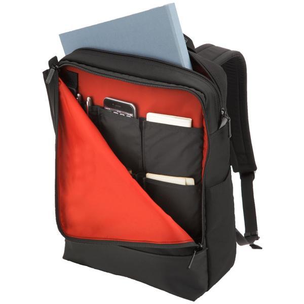 【全商品ポイント10倍】 MANHATTAN PASSAGE Well-Organized City Backpack Plus2 ビジネスバッグ バックパック リュック A4 ブラック #7016-BK|monosapiens|02