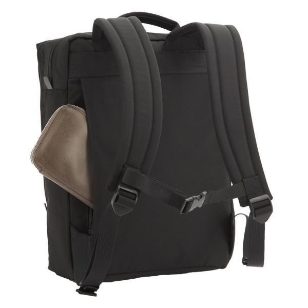 【全商品ポイント10倍】 MANHATTAN PASSAGE Well-Organized City Backpack Plus2 ビジネスバッグ バックパック リュック A4 ブラック #7016-BK|monosapiens|03