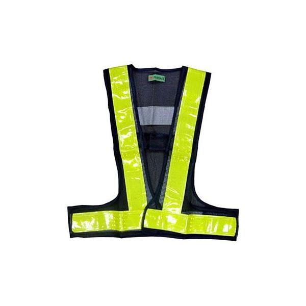 プリズム反射安全ベスト 富士手袋工業(天牛) 4260 紺/黄