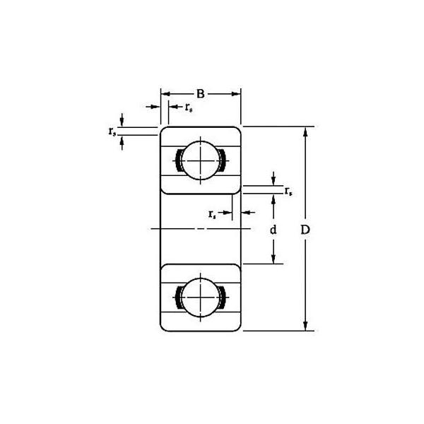ボールベアリング MR オープン形 EZO(北日本精機) MR137