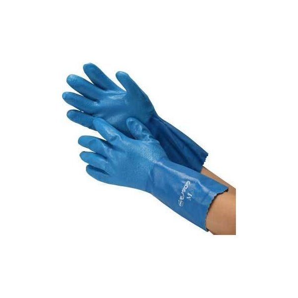 ニトリルゴム手袋厚手ロングタイプモノタロウロング/M