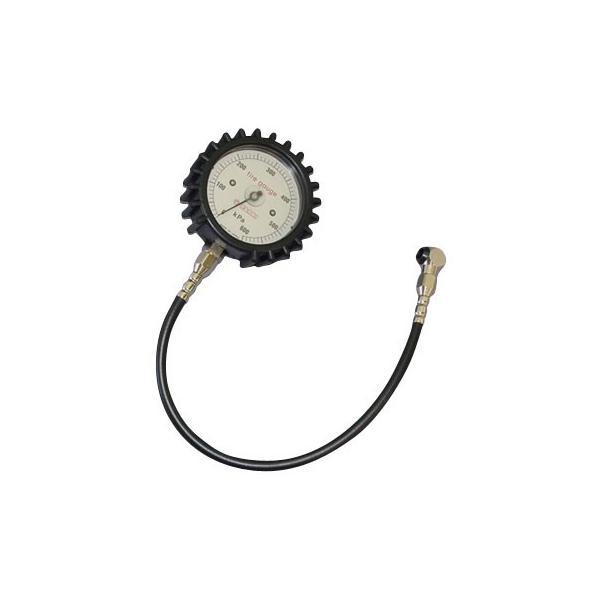 タイヤゲージ(ダイヤルタイプ・測定専用)(2輪用) 旭産業(エアーゲージ) AD-306MC