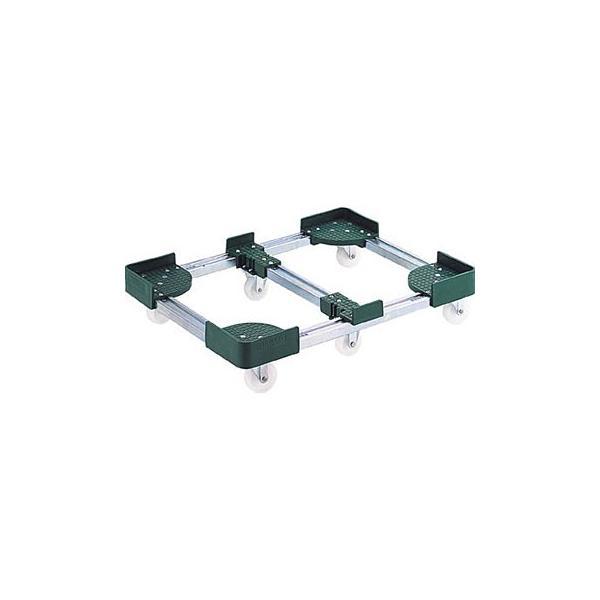 伸縮式コンテナ台車(6輪タイプ) TRUSCO FCD6-30100