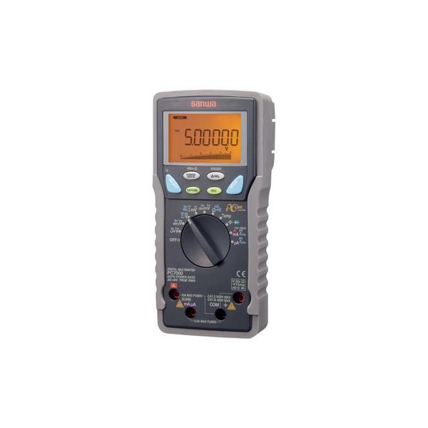 デジタルマルチメータ(パソコン接続タイプ) 三和電気計器 PC7000