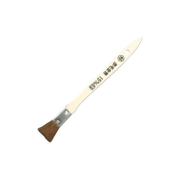 赤毛 金巻ラック刷毛 (B) 好川産業 15mm