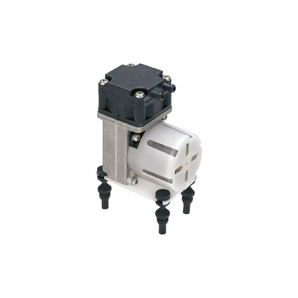 DC駆動ダイアフラム方式真空ポンプ/コンプレッサ兼用タイプ 日東工器 DP0102S-Y1