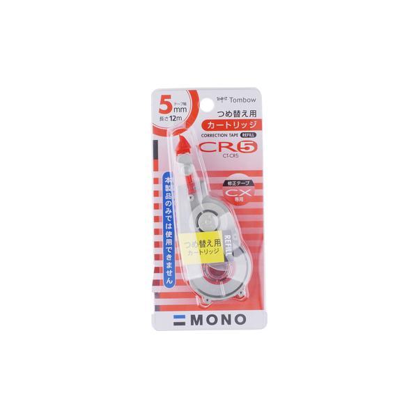 修正テープ モノCX用 カートリッジ CT-CR トンボ鉛筆 CT-CR5
