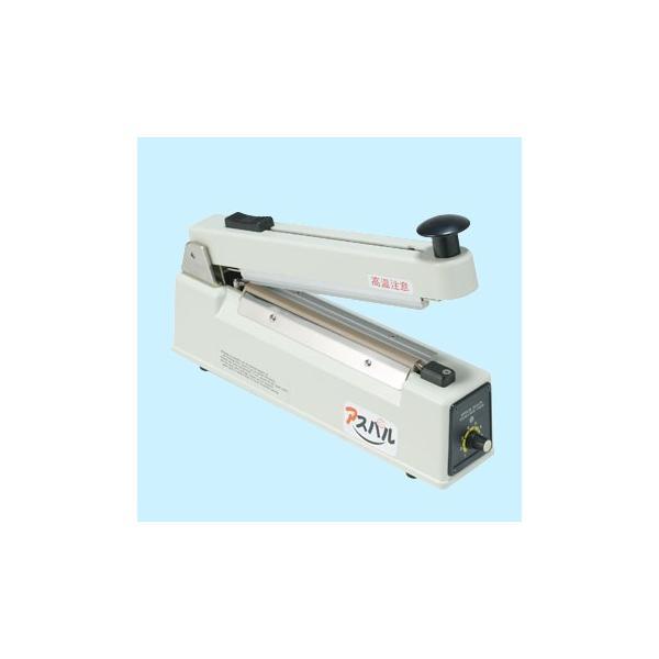 卓上タイプ インパルスシーラー CSシーラー(カット機能付) 朝日産業(捕虫器・包装機器) CS-300HC