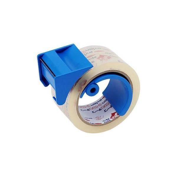 らくはる粘着テープ 共和(輪ゴム・ゴムバンド) HS-45053-1 50mm×50m(カッター付)