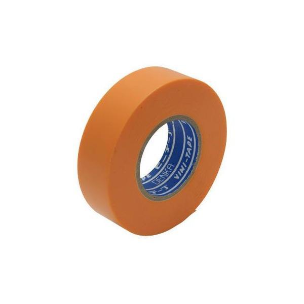 ハーネステープ Denka(デンカ) No.234W 0.13×19×20 橙