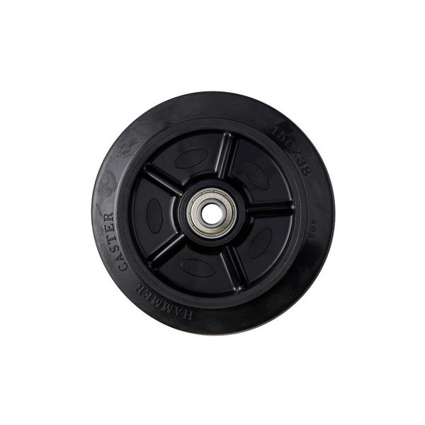 車輪(ゴム(B入)車輪) 434S-FR ハンマーキャスター 434S-FR150