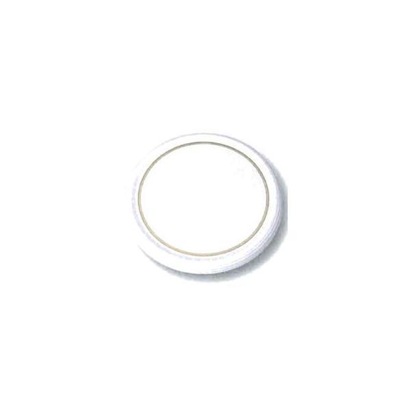 よし与工房 業務用 陶器風 メラミン ケーキトレー 丸型 30cm ホワイト 金線入 CT-3000-WS