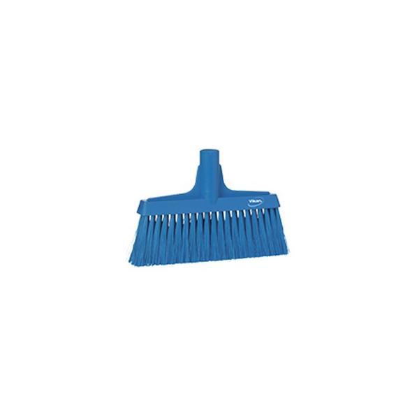 ヴァイカン 業務用 清掃用品 掃除道具 パーツ ほうき フロアブルーム エルゴノミックデザイン No.2914 ブルー
