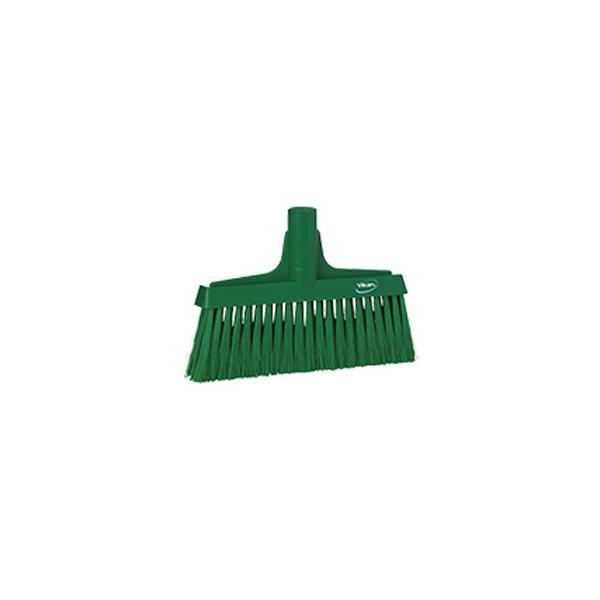 ヴァイカン 業務用 清掃用品 掃除道具 パーツ ほうき フロアブルーム ソフトタイプ No.3104 グリーン