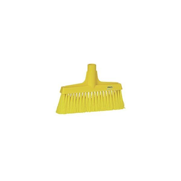 ヴァイカン 業務用 清掃用品 掃除道具 パーツ ほうき フロアブルーム ソフトタイプ No.3104 イエロー