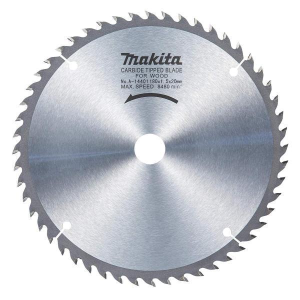 マキタ丸ノコ・造作一般木工用チップソー外径180mmX刃数52A-14401