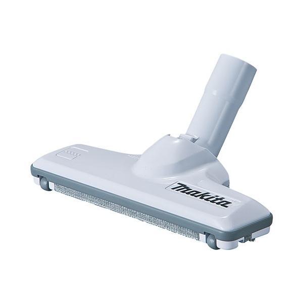 マキタ 充電式クリーナー用 フロア・じゅうたんノズル(じゅうたん用ノズルDX) スノーホワイト(A-59950)