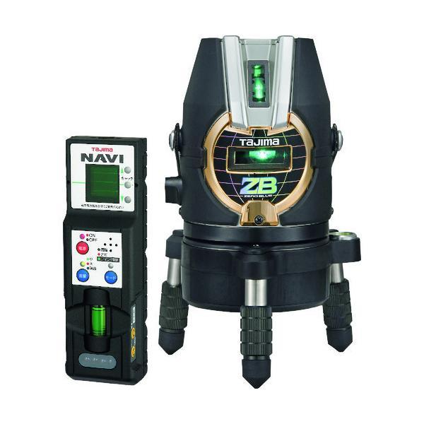 タジマ レーザー墨出し器 NAVI ZERO BLUE -KJY (本体+受光器付属) ZEROBN-KJY