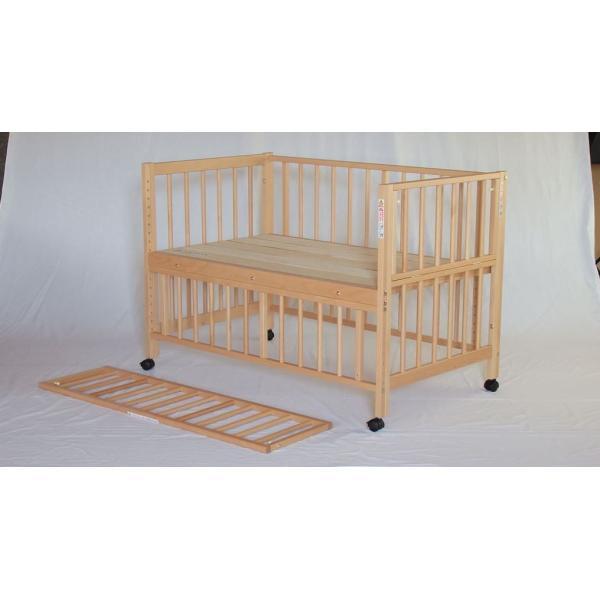 添い寝ベッドS型スクレ サワベビー ベビーベッド キッズベッド キャスター付き日本製|monreve|08