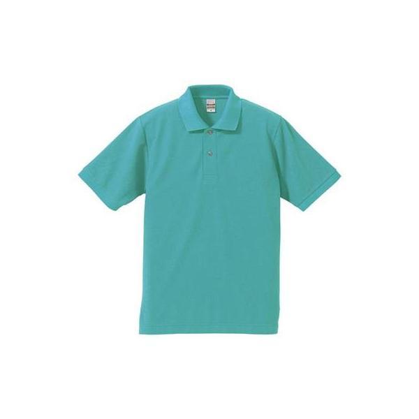 (ユナイテッドアスレ)UnitedAthle 5.3オンス ドライカノコ ユーティリティー ポロシャツ 505001 [メンズ] 024 ミントグリーン S