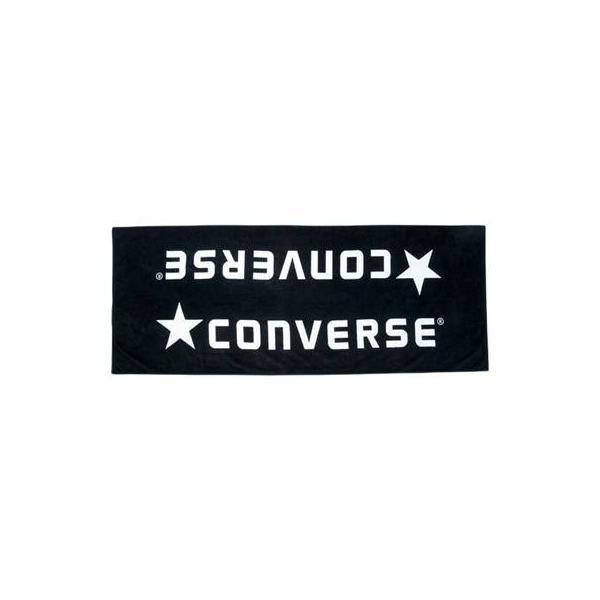 (コンバース)CONVERSE ベンチタオル CB142901 1911 ブラック×ホワイト F
