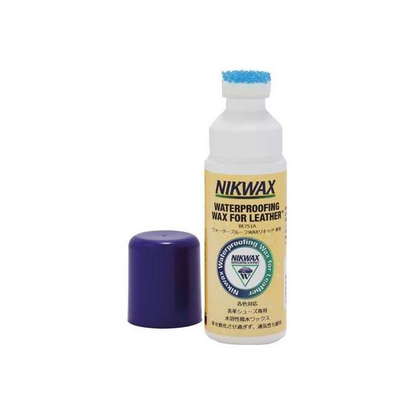 NIKWAX(ニクワックス) 撥水剤 表革専用 ウォ-タ-プル-フWAXリキッド EBE751A