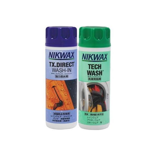 NIKWAX(ニクワックス) 洗濯洗剤 撥水剤セット ツインパック EBEP01|montaukonline