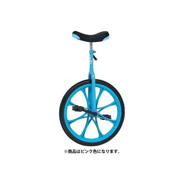 TOEI LIGHT(トーエイライト) ノーパンク一輪車20 ピンク 20インチ ノーパンクタイヤ 適正身長135~160cm T2498P