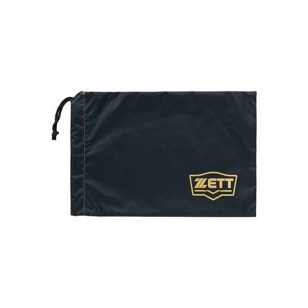ZETT(ゼット) 野球用 シューズ 袋 ブラック BA196 1900|montaukonline