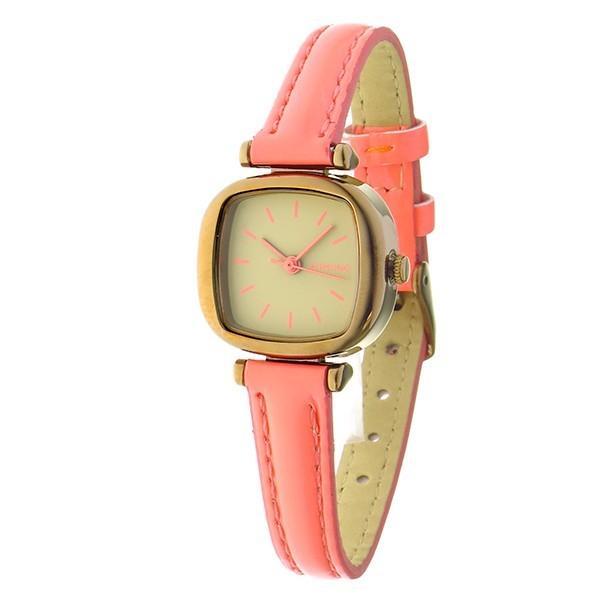 コモノ KOMONO Moneypenny Dayglow Coral クオーツ レディース 腕時計 KOM-W1205 ベージュ 【あすつく】