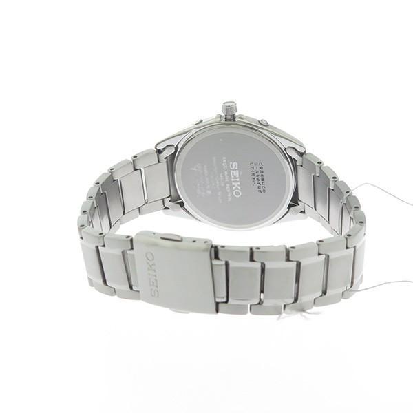 セイコー SEIKO ソーラー SOLAR クオーツ ユニセックス 腕時計 SBTM223 ホワイト/シルバー 【あすつく】