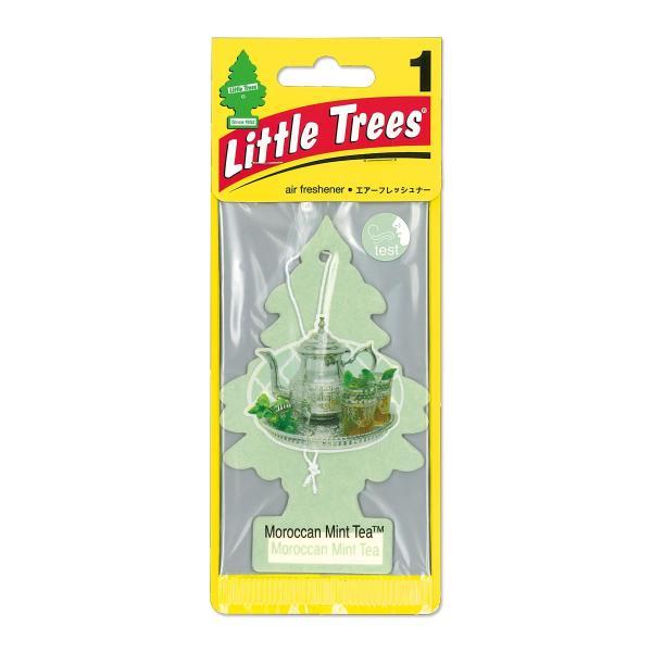 Little Tree (リトル ツリー) エアーフレッシュナー モロッコ ミント ティー|mooneyes