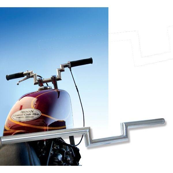MOON Custom Cycle Shop Original Hadle Bars(スチール製)|mooneyes