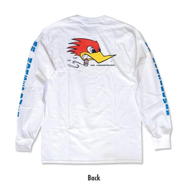 XXLサイズ クレイスミス ロング スリーブ Tシャツ ホワイト|mooneyes|02